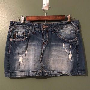 Maurice's Denim Skirt